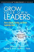 Grow Your Own Leaders How to Identify, Develop, and Retain Leadership Talent
