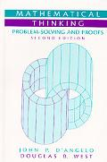 Mathematical Thinking Problem-Solving and Proofs
