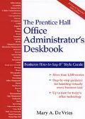 Prentice Hall Office Administrator's Deskbook