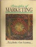 Principles of Marketing (The Prentice Hall Series in Marketing)