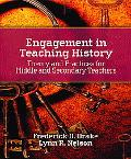 Engagement in Teaching History Theory and Practices for Middle and Secondary Teachers