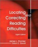 Locating and Correcting Reading Difficulties (8th Edition)