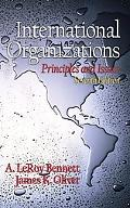 International Organizations Principles and Issues
