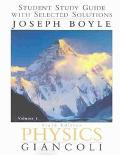 Physics Student Study Guide With Selected Solutions