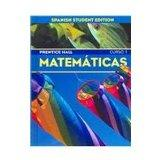 Prentice Hall Matematicas: Curso 1 (Spanish Edition)