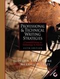 Professional and Technical Writing Strategies Communicating in Technology and Science