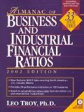 Almanac of Business and Industrial Financial Ratios 2002