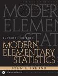 Modern Elementary Statistics