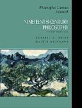 Nineteenth-Century Philosophy Philosophic Classics