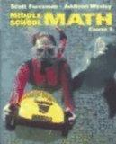 Middle School Math Course 1 Student Ed 2002 (Scott Foresman-Addison Wesley)