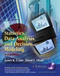 Statistics, Data Analysis and Decision Modeling and Student CD-ROM