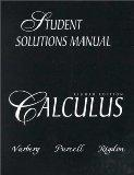 Calculus (8th Edition): Student Solutions Manual