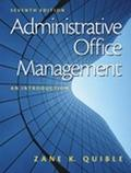 Administrative Office Management An Introduction