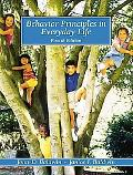 Behavior Principles in Everyday Life (4th Edition)