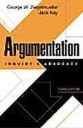 Argumentation Inquiry and Advocacy