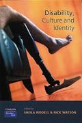 Disability, Culture & Identity