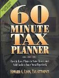 60-Minute Tax Planner - Edward A. Lyon - Hardcover