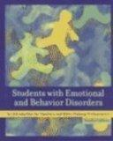 Students with Emotional and Behavior Disorders: An Introduction for Teachers and Other Helpi...