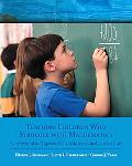 Teaching Children Who Struggle With Mathematics A Systematic Approach to Analysis and Correc...