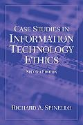 Case Studies in Information Technology Ethics and Policy