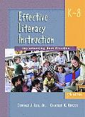 Effective Literacy Instruction, K-8 Implementing Best Practice