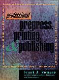 Professional Prepress, Printing, and Publishing