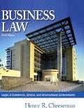 Business Law Legal, E-Commerce, Ethical, and International Environments