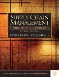 Supply Chain Management Strategy, Planning, and Operation