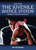 Juvenile Justice System Delinquency, Processing and the Law