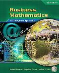 Business Mathematics A Collegiate Approach