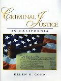 Criminal Justice In California