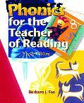 Phonics For The Teacher Of Reading Programmed For Self-Instruction