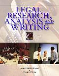Legal Research, Analysis And Writing An Integrated Approach
