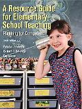 Resource Guide For Elementary School Teaching Planning for Competence