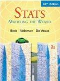 Stats: Modeling the World Nasta Edition Grades 9-12