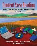 Content Area Reading: Literacy and Learning Across the Curriculum (with MyEducationLab) (10t...