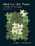 Making the Team A Guide for Managers
