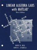Linear Algebra Labs with MATLAB (3rd Edition)