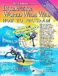 Internet & World Wide Web How to Program