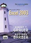 Exploring Microsoft Office Excel 2003 Adhesive Bound