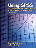 Using Spss For Windows And Macintosh Analyzing And Understanding Data