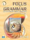Focus On Grammar An Integrated Skills Approach