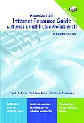 Internet Resource Guide for Nurses & Health Care Professionals
