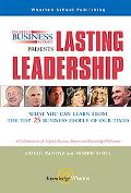 Nightly Business Report Presents Lasting Leadership What You Can Learn From The Top 25 Busin...