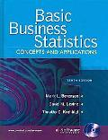 Basic Business Statistics: Concepts and Applications (10th Edition)