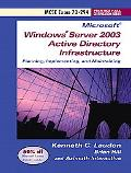 Planning, Implementing, and Maintaining a Microsoft Windows Server 2003 Active Directory Inf...