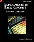 Experiments in Basic Circuits Theory and Application