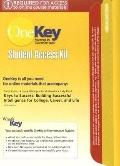 OneKey CourseCompass, Pincode Access Card