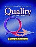 Student Solutions Manual to Accompany Quality, Fourth Edition