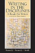 Writing in the Disciplines A Reader for Writers